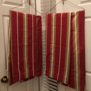 Pottery Barn Lined Drapes